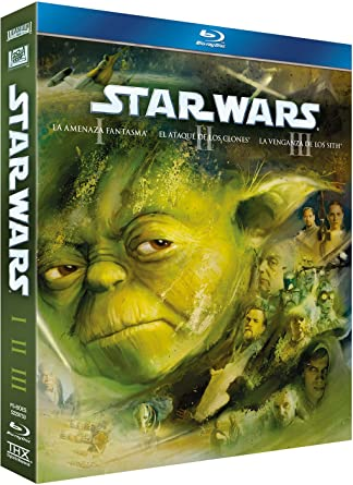 Star Wars Trilogía Episodios I-Iii (2011) [Blu-ray]: Amazon.es: Sebastian Shaw, Billy Dee Williams, Mark Hamill, Harrison Ford, Carrie Fisher, David Prowse, Peter Mayhew, Peter Cushing, Alec Guinness, Anthony Daniels, Varios, George Lucas,