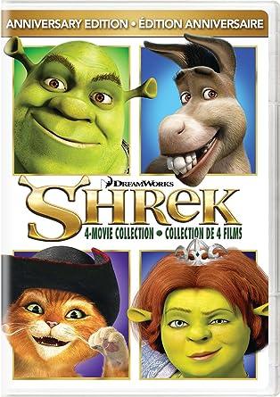 Amazon Com Shrek Shrek 2 Shrek The Third Shrek Forever After Shrek 4 Movie Anniversary Edition Mike Myers Cameron Diaz Eddie Murphy Antonio Banderas Julie Andrews Chris Miller Raman Hui Vicky
