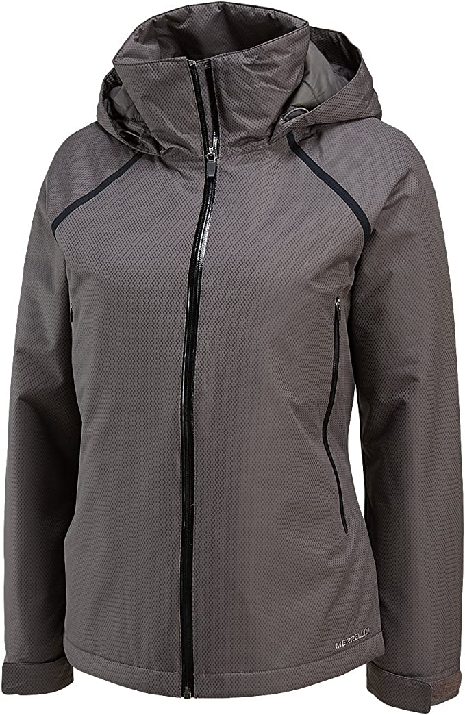 Merrell Isolierte Jacke Alpena, für Damen XL Shadow: Amazon
