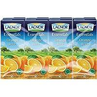 Lacnor Essentials Orange Juice - 180 ml x 8