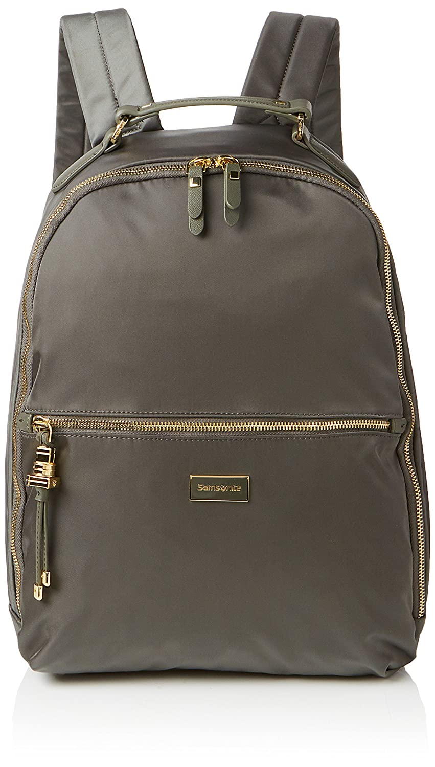 SAMSONITE Karissa Biz - Laptop Backpack 14.1 Rucksack, 41 cm, 17.5 L, Gunmetal Grün