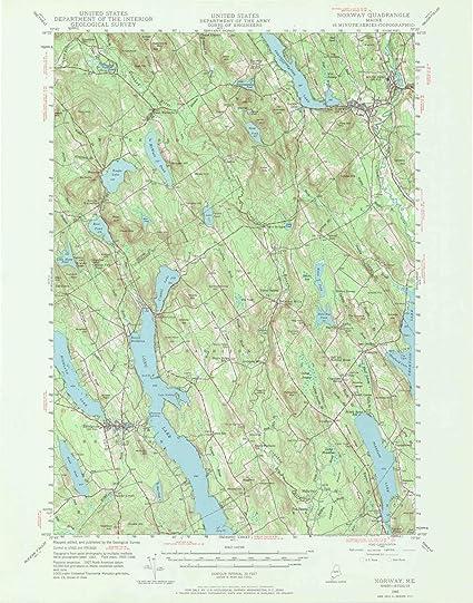 Topographic Map Of Norway.Amazon Com Yellowmaps Norway Me Topo Map 1 62500 Scale 15 X 15