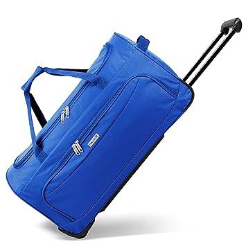 78676ac11afb noorsk Geräumige Reisetasche Sporttasche in verschiedenen Farben - XL - Blau