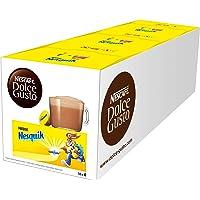 NESCAFÉ Dolce Gusto Nesquik | 48 capsules drinkchocolade | heerlijke cacao smaak | lekker cacaoaroma van Nesquik | snelle bereiding | aroma verzegelde capsules | verpakking van 3 (3 x 16 capsules)