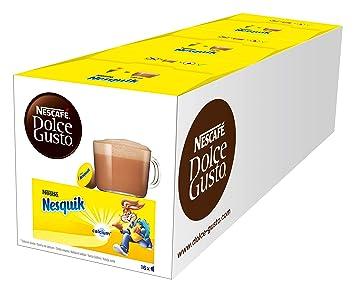 NESCAFÉ Dolce Gusto Nesquik | 48 Kapseln Trinkschokolade | köstlicher Kakao Geschmack | Leckeres Kakaoaroma von Nesquik | Sch