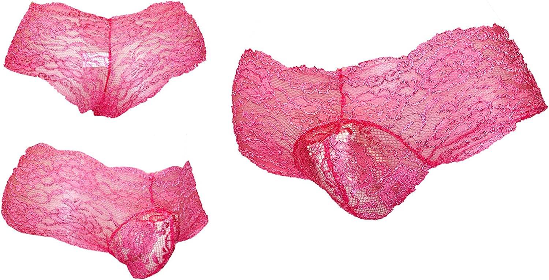 3-Pack Mens Sissy Pouch Panties//Mens Panties