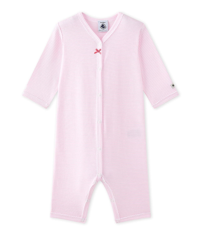 Petit Bateau Baby-Mädchen Schlafstrampler 27349