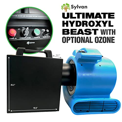 Sylvan Ultimate Hydroxyl UV Beast HX-5000 Hydroxyl Generator with Optional and Adjustable Ozone Blast