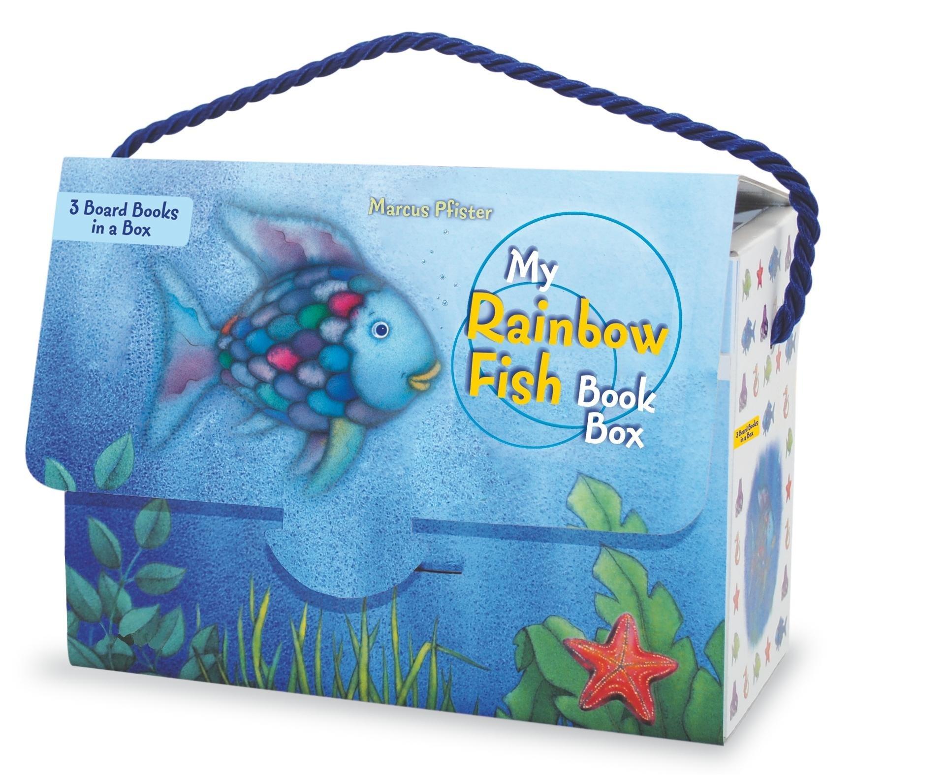 my rainbow fish book box marcus pfister