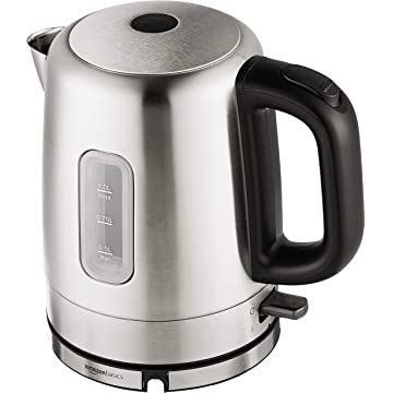 best AmazonBasics Stainless Steel Electric Kettle reviews