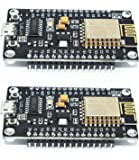 (2 pack) ESP8266 microcontroller NodeMCU Lua V3 WIFI with CH340G