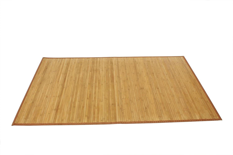 AVANTI TRENDSTORE - Dana - Tappeto in Bamboo, colore legno, disponibile in diverse misure (50x80 cm)