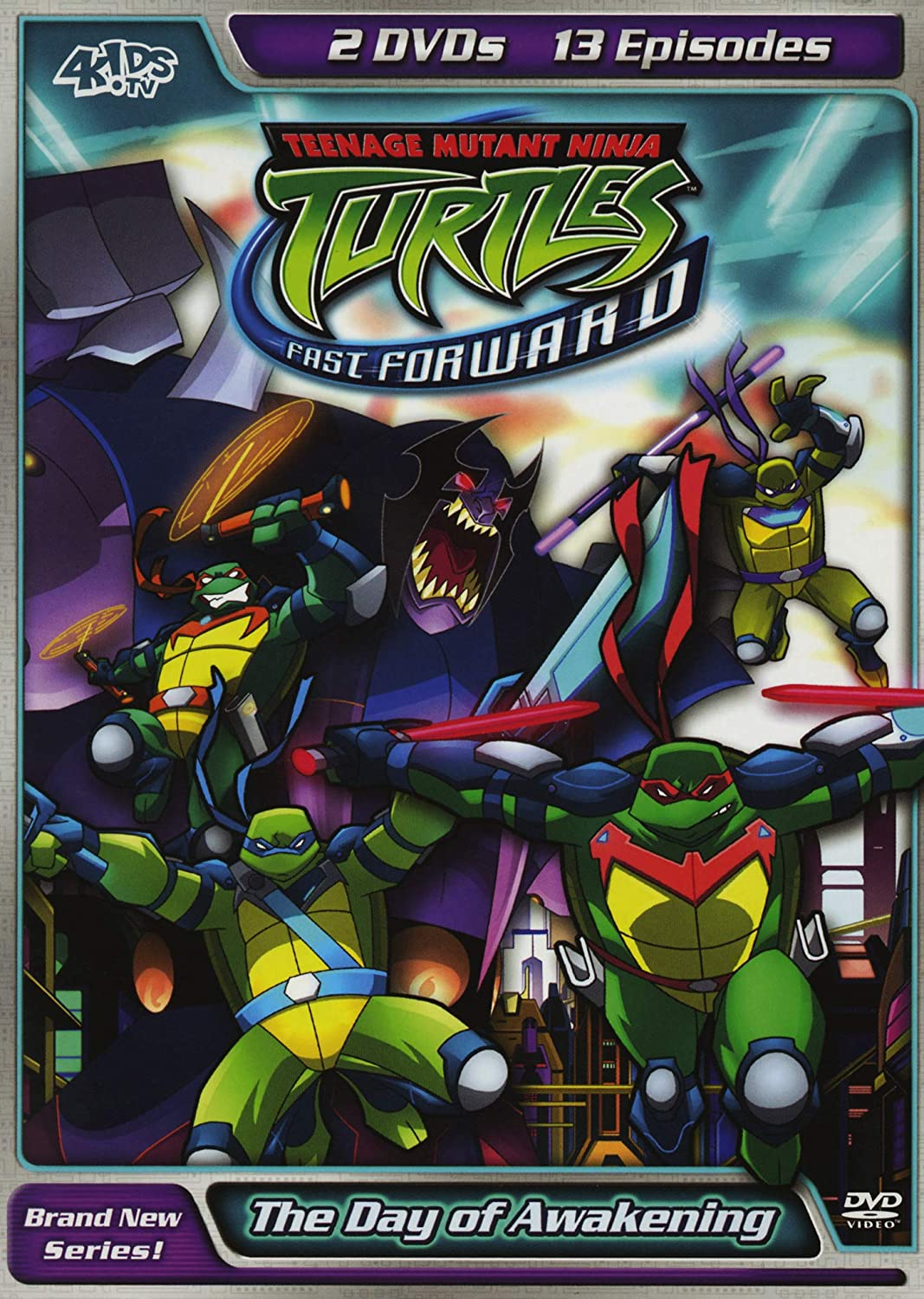 Amazon.com: Teenage Mutant Ninja Turtles: Fast Forward - The ...