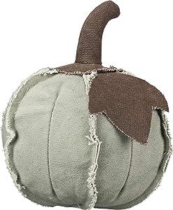 Primitives by Kathy Fabric Pumpkin Decoration, Medium, Green
