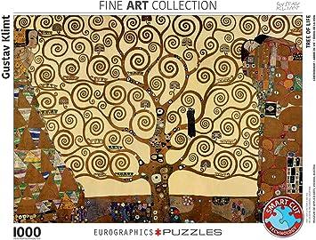 EuroGraphics Tree of Life by Klimt 1000pcs Puzzle - Rompecabezas (Puzzle Rompecabezas, Arte, Niños y Adultos, 1000 Pieza(s)): Amazon.es: Juguetes y juegos