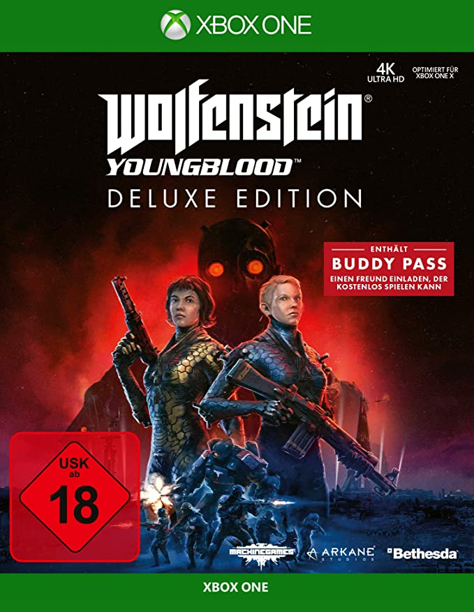 Wolfenstein Youngblood - Deluxe Edition (Deutsche Version): Amazon.es: Electrónica