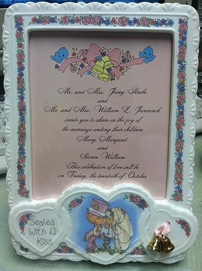 Amazon Precious Moments Wedding Invitation Plaque Home