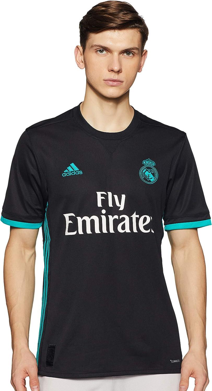 adidas JSY 2nd Kit Real Madrid 2017-2018 Camiseta, Hombre