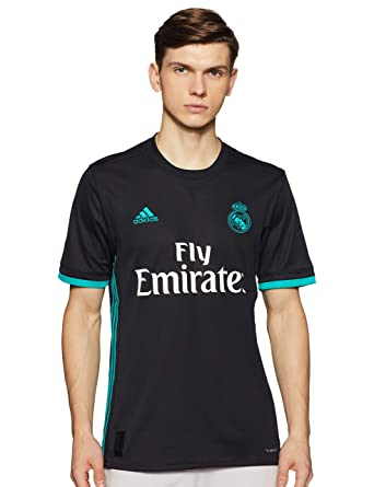 brand new 019e6 a7f32 adidas Men's JSY 2nd Kit Real Madrid 2017-2018 T-Shirt