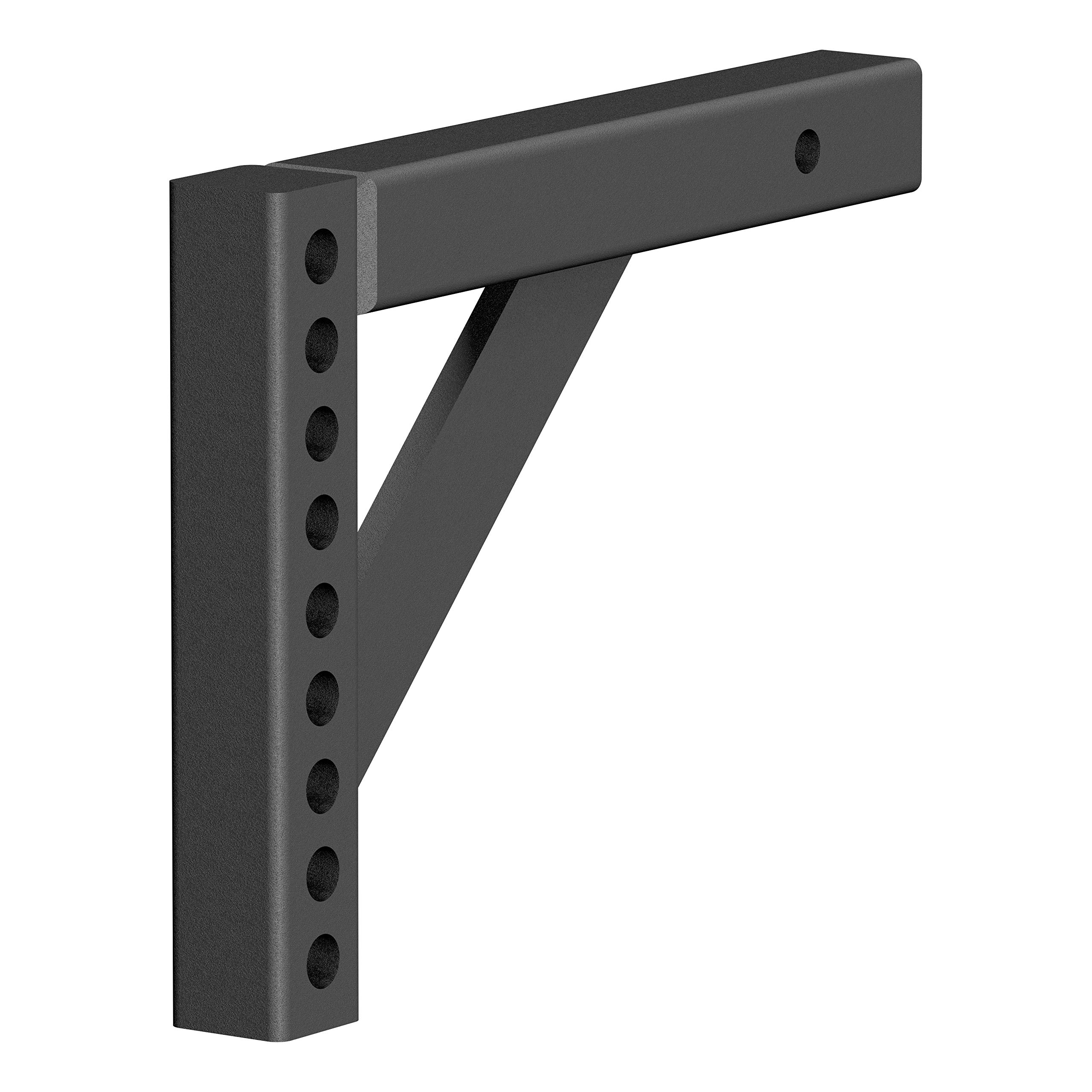 CURT 17121 Replacement Weight Distribution Hitch Shank Black 2 Receiver, 6-Inch Drop, 10-1/4-Inch Rise by CURT