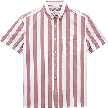 next Hombre Camisa Rayas Anchas Regular XXXXL: Amazon.es: Ropa y accesorios