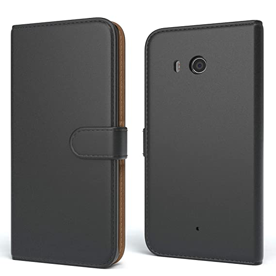 EAZY CASE Tasche für Huawei Y3 Schutzhülle mit Standfunktion Klapphülle im Bookstyle, Handytasche Handyhülle Flip Cover mit M