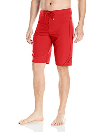 50a811ca4c Image Unavailable. Image not available for. Color: O'Neill Men's Hyperfreak  S-seam Quick Dry Stretch Boardshort, Red Solid,