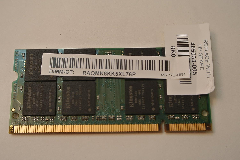 Kingston 2gb Ddr2 Memory So Dimm 200pin Pc2 6400s 800mhz Hpk800d2s6 Memori Pc 6400 2g Electronics