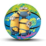 Hedstrom Toys Hedstrom 53-63804AZ Hedstrom Minions Jr. Rubber Basketball, 53-63804AZ Toy