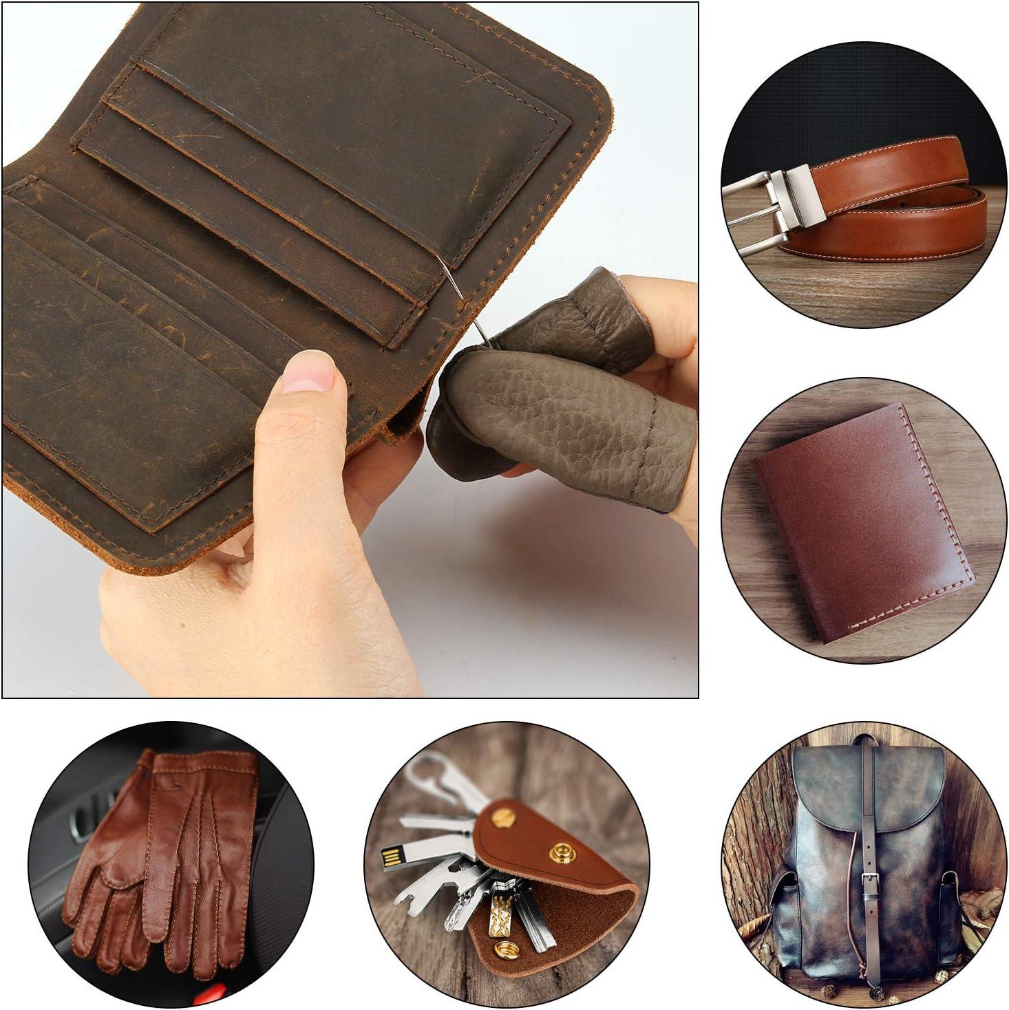 Herramientas de costura de cuero, FIXM 28 Sets Herramientas de ...