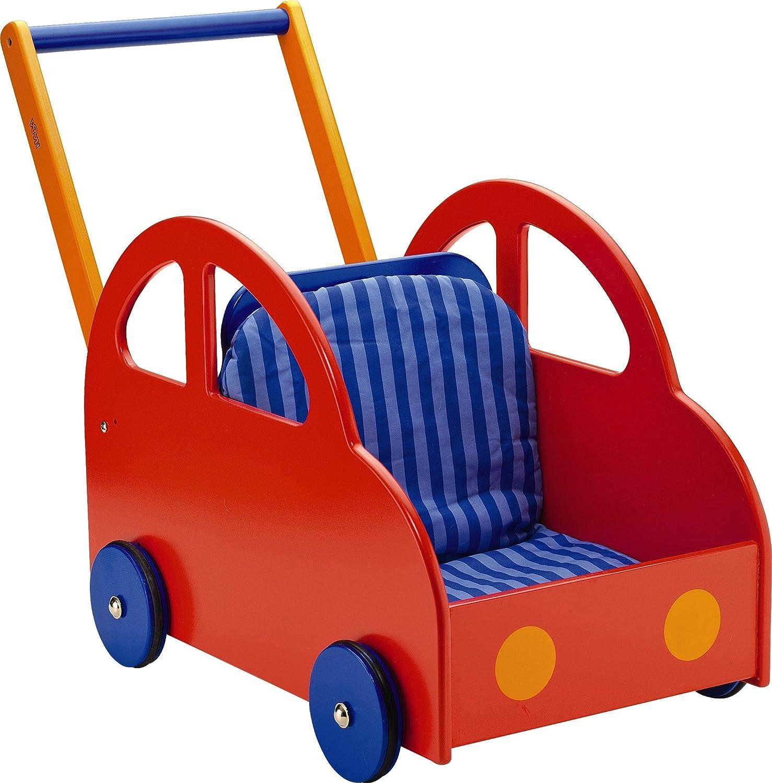 HABA Walk & Roll Car Push Stroller [並行輸入品]   B01K1UREU2