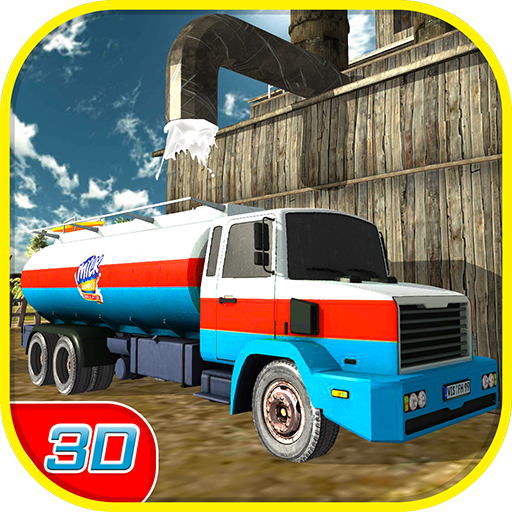 Milk Truck Supply Simulator 3D