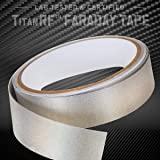 TitanRF Faraday Tape - High-Shielding Conductive Adhesive Tape // Used to Connect TitanRF Fabric Sheets or Seal RF…