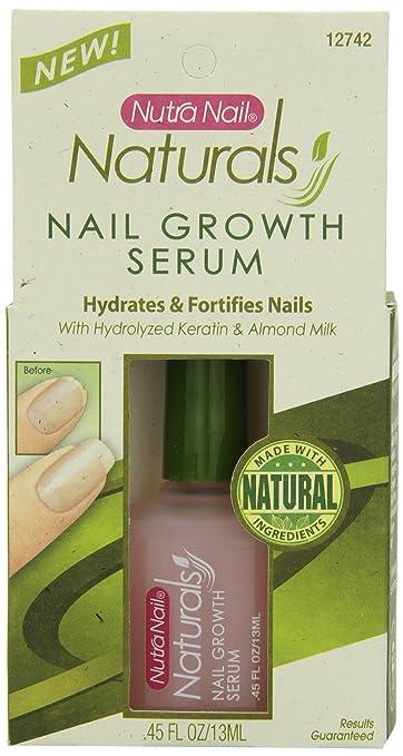 Amazon.com : Nutra Nail Naturals Nail Growth Serum, 0.45 Fluid Ounce ...