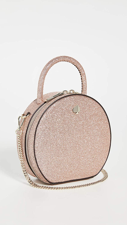 Kate Spade New York Andi Mini sac de cantine à paillettes pour femme Rose Fuchsia