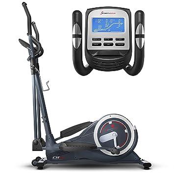 Sportstech CX650 Profi Escaladoras ellipsentrainer stepper con smartphone App entrenar/hogar entrenador, La inercia