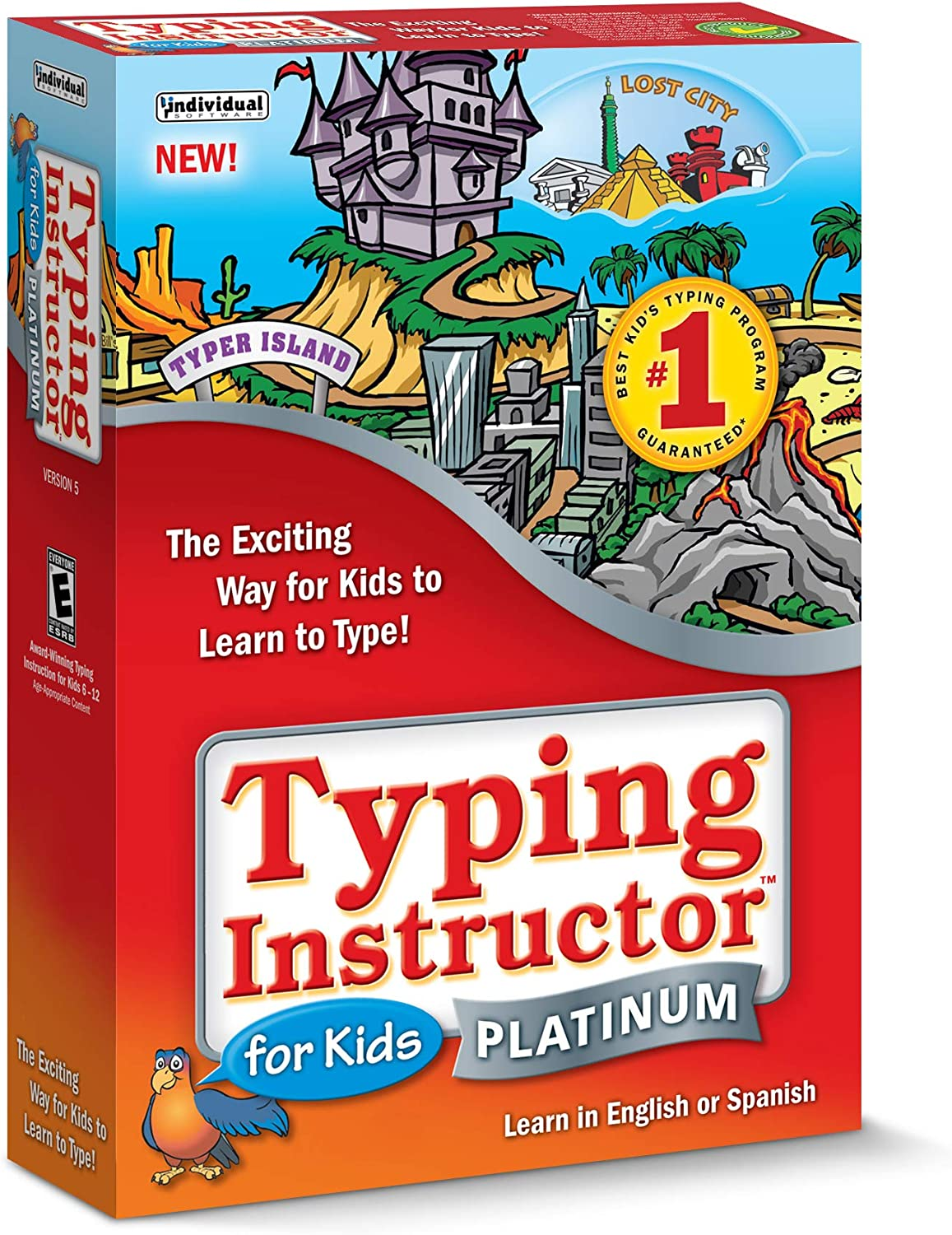 Typing Instructor Platinum 5 for Kids Discount Coupon Code
