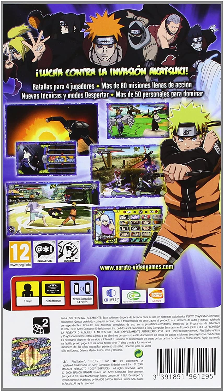 Naruto Shippuden 3: Ultimate Ninja Heroes [Reedición ...