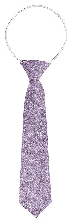 BomGuard - Corbata para niños, color lila mate: Amazon.es: Ropa y ...