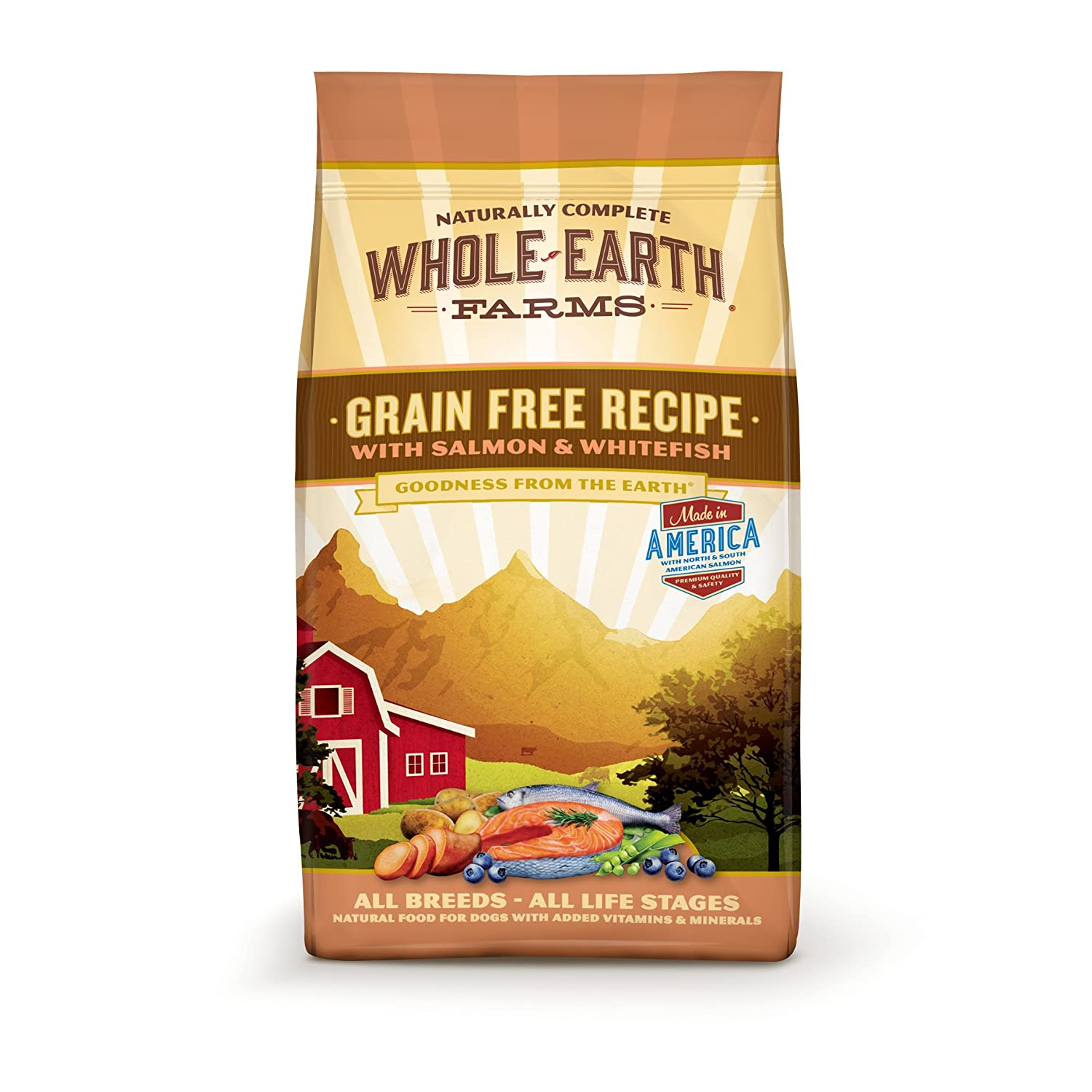 Merrick Whole Earth Farms Grain-Free Dry Dog Food