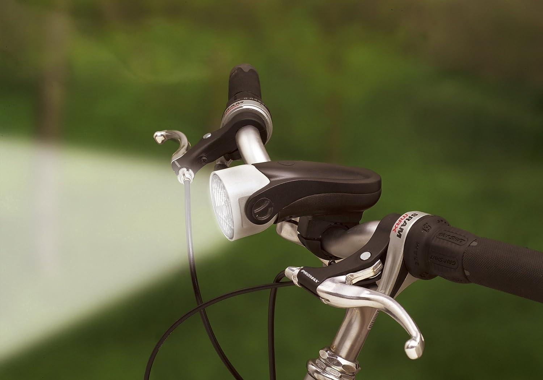 Profex Mega White - Foco delantero para bicicleta con luz LED (luz ...