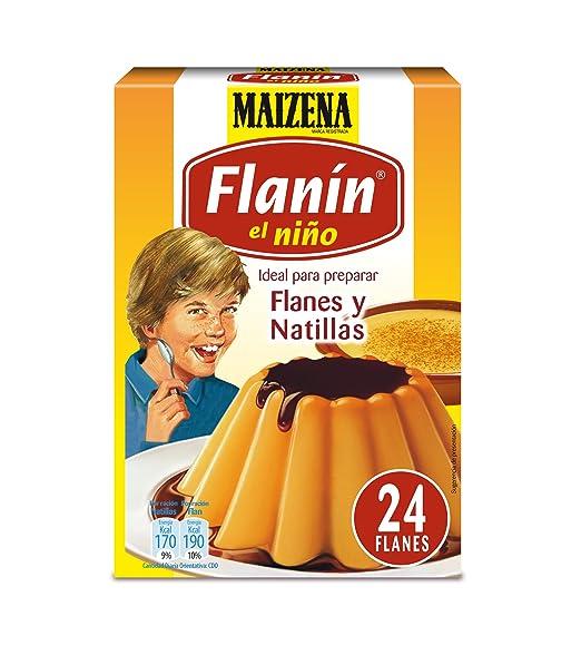 Maizena - Preparado para flan y natillas - 192 g (6 sobres de 32g)