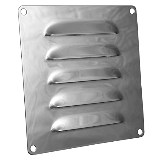 OPIOL QUALITY - Chapa tipo B de acero inoxidable A2, rejilla ...