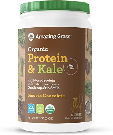 Amazing Grass - Proteína Orgánica y Kale Powder Smooth Chocolate ...