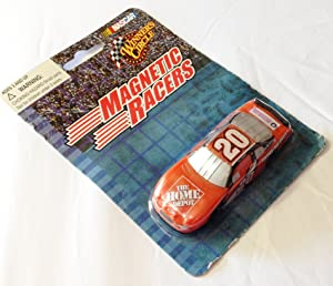 NASCAR Tony Stewart #20 Home Depot 1:64 Scale Diecast Magnetic Racers Magnet (Dated 2003)
