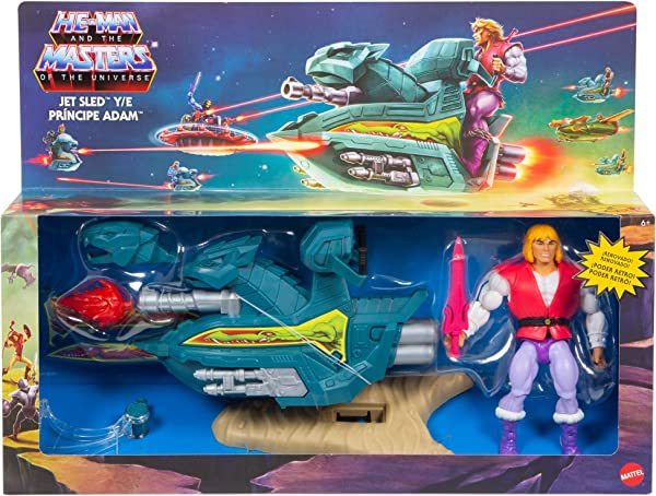 Masters of the Universe – Prince Adam Sky Sled