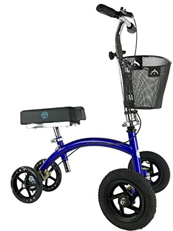Amazon Com Kneerover Hybrid Knee Scooter With All Terrain Front