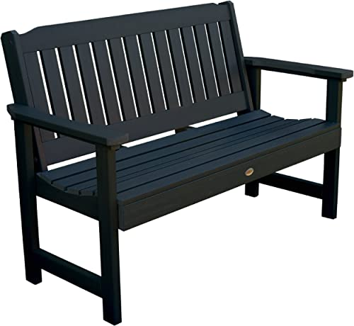 Highwood AD-BENW1-BKE Lehigh Garden Bench