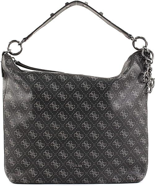 Guess Mia Coal Shoulder Bag HWSM71 03020 COA: Amazon.co.uk