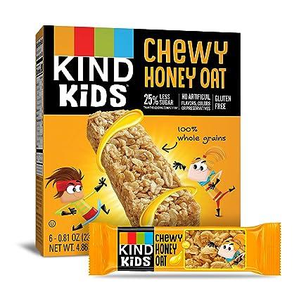 Amazon.com : KIND Kids Granola Chewy Bar, Honey Oat, 6 Count (Pack Of 8) : Garden & Outdoor